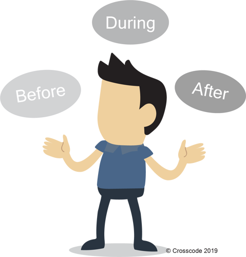 Defining_Change before , during, and after the change